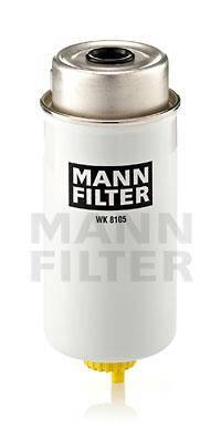Фильтр топливный FORD TRANSIT 2000 2.0-2.4 DI, TRANSIT 2007 2.2-2.4 TDCI (пр-во MANN), фото 2