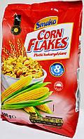 Пшенично - кукурузянные хлопя ( 8 витаминов ) Corn flakes 500g.