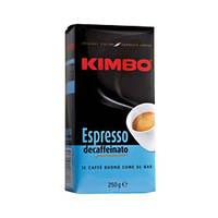 KIMBO ESPRESSO DECAFF молотый 0,25 кг