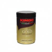 KIMBO AROMA GOLD 100% ARABICA  Ж\Б молотый 0,25 кг.