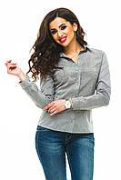 Женская рубашка 240 серая CП