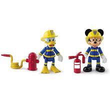 Набір фігурок Відважні Міккі і Дональда