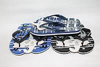 Подростковые шлепанцы вьетнамки для мальчиков оптом от фирмы Super Gear B992 (24 пар 36-41)