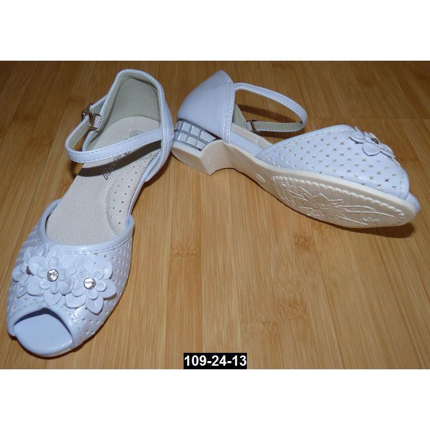 55238a411 Босоножки для девочки, 27 размер, супинатор, кожаная стелька, туфли на  выпускной,