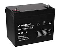 Аккумуляторная батарея SUNLIGHT серии SPB 12V - 75Ah