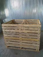 Контейнер деревянный для овощей, картофель, лук, морковь