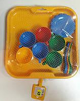 Детский набор посуды на подносе ''Ромашка''
