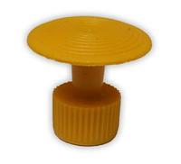 Клеевой грибок Круглый 23 мм. Желтый