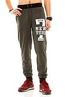 Мужские спорт штаны 320 темно-серые СП