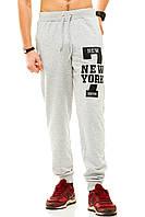 Мужские спорт штаны 320 серые СП