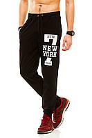 Мужские спорт штаны 320 черные СП
