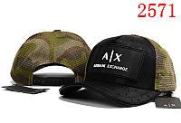 Кепка мужская Armani Exchange. Кепка женская. Бейсболка | AX хаки