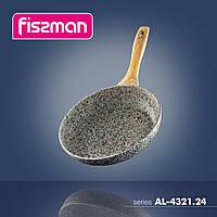 4322.26 Fissman Сковорідка для смаження CR.EMA NOVA 26x5,2см з індукційним дном (алюм з антиприг покрит)
