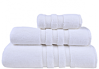 Махровое полотенце 30х50 Casual Avenue Kinsey white