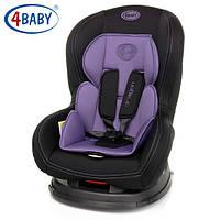 Детское Автокресло (0+/1) 0-4 года(0-18 кг)4baby - Dragon (7 цветов)Purple
