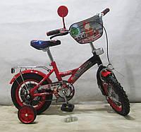 Велосипед TILLY Пожежник 12'' T-21224 red + black
