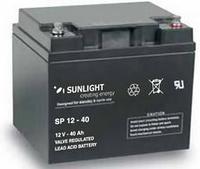 Аккумуляторная батарея SUNLIGHT серии SPB 12V - 40Ah