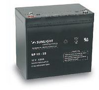 Аккумуляторная батарея SUNLIGHT серии SPB 12V - 55Ah