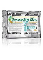 Доксициклин 20% порошок 100г (кормовой) O.L.KAR.