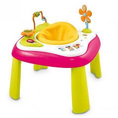 Детский развивающий стол Smoby Cotoons 110200R розовый