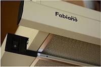 Вытяжка кухонная телескопическая Fabiano Slim 60 Ivory