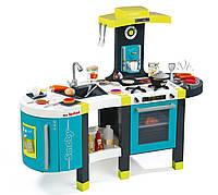 Интерактивная детская кухня Mini Tefal French Touch Smoby - Франция - 45 аксессуаров в наборе посуды