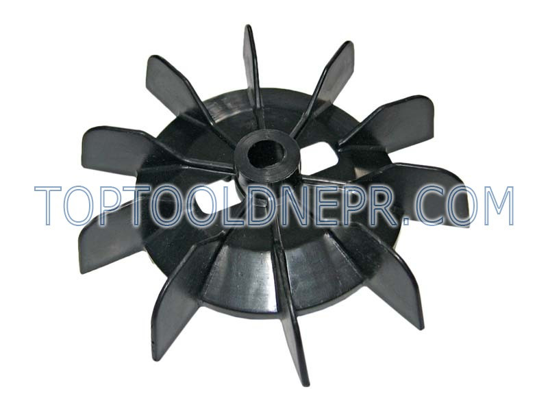 Крыльчатка для компрессора, чёрная, 14х143мм