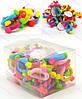 Резинка детская с украшениями разноцветная