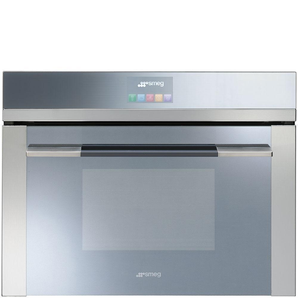 Духовой шкаф с микроволновой печью Smeg SF4102MCS