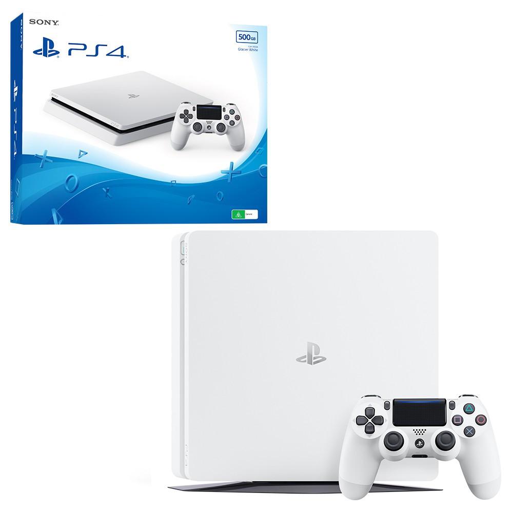 Sony PlayStation 4 (PS4) Slim 500GB White  + Far Cry 4