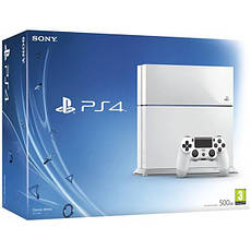 Sony PlayStation 4 (PS4) Slim 500GB White  + GTA V, фото 2