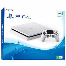 Sony PlayStation 4 (PS4) Slim 500GB White  + GTA V, фото 3