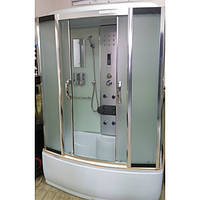 Гидромассажный бокс Atlantis AKL 1107M (White,Grey) 170x85