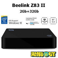 Beelink Z83 II Mini PC Windows 10 64bit Intel Atom x5-Z8350 Quad Core