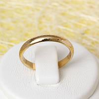 002-2485 - Позолоченное кольцо, 17, 18.5, 19.5 р.
