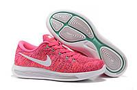 Кроссовки женские Nike LunarEpic Flyknit Low Pink, фото 1