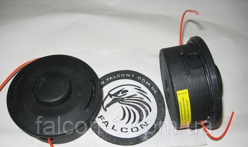 Головка косильная для китайских мотокос, полуавтомат, M10*1.25, D=116 мм