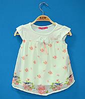Детские футболки для девочек 3-6 лет, Красивые футболки для девочки