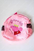 Мягкий плюшевый рюкзачок пеппа свинка