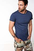Мужская футболка De Facto темно-синего цвета