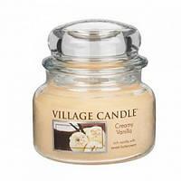"""Свеча Сливки с ванилью Premium """"Village Candle"""" 315г"""