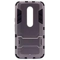 Противоударный чехол для Motorola Moto X Style (XT1572)  с подставкой и мощной защитой корпуса /для Моторолы Мото/