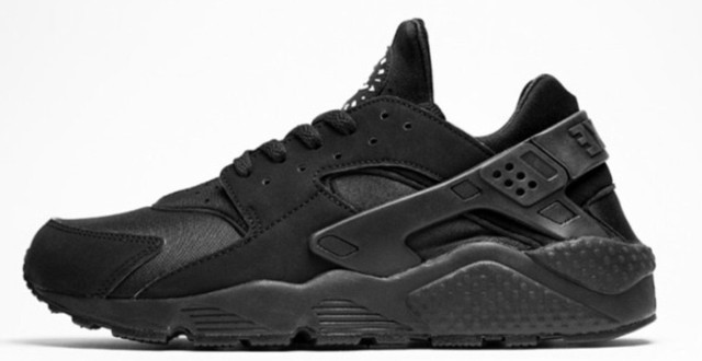 Кроссовки Nike Air Huarache Triple black , найк хуарачи