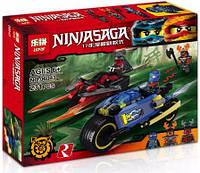 """Конструктор Lepin Ninja 06043 (аналог Lego Ninjago 70622) """"Пустынная молния"""" 231 деталь"""
