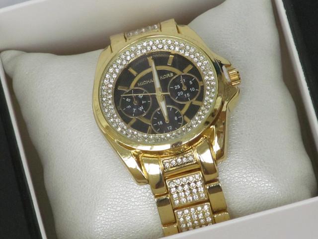 Женские наручные часы Mісhаеl Коrs золотистые, Майкл Корс на руку для девушки для женщины под золото стрелочные кварцевые