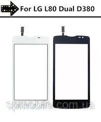 Touch screen LG D380 Optimus L80 Dual (Чорний) High Quality