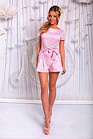 """Стильный молодежный костюм """" Блузка + шорты """" Dress Code"""