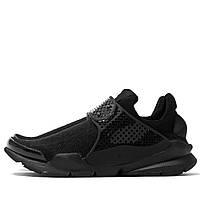 Кроссовки мужские Nike Sock Dart Triple Black, найк аир престо