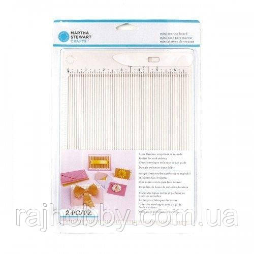 Доска для биговки Martha Stewart - Mini Scoring Board, 17х21см, 42-05013
