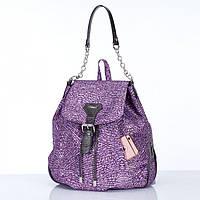 Сумка-рюкзак Dolly 369 женский городской молодежный с карманами закрывается клапаном на магните